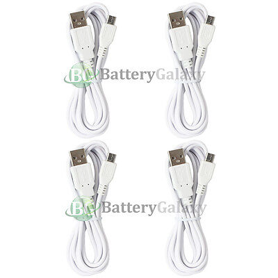 4 Micro USB 6FT Charger Cable Cord for Phone LG G2 G3 G4 Phoenix K3 K4 K7 K8 K10