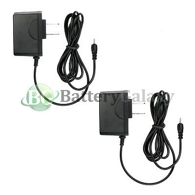 2x NEW Rapid Travel Battery Home Wall Charger for Nokia 1661 2720 6126 6133 6155