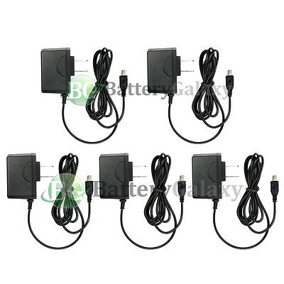 5 HOT! NEW Wall Charger for Motorola RAZR RAZOR v3 v3c v3i v3m v3r v3t w315 w385