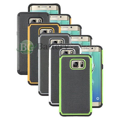 Lot of 5 Black/Orange/White Case for Android Phone Samsung Galaxy S6 Edge Plus