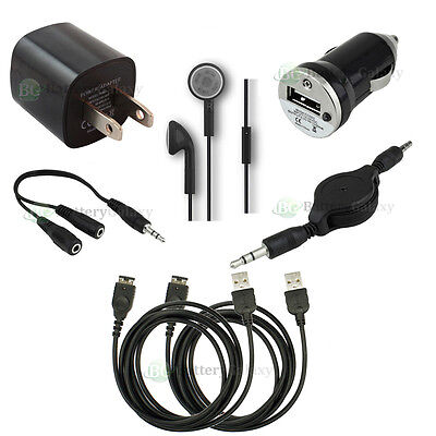 7pc USB Cable+Car+Wall Charger for Game Nintendo DS NDS Gameboy Advance GBA SP