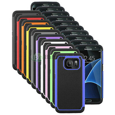 CLEARANCE Lot of 10 Hybrid Rubber Case for Phone Samsung Galaxy S7 Edge 50+SOLD