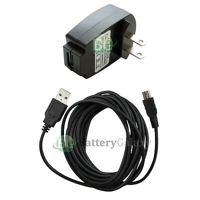 USB 10FT Cable+Wall Charger for Phone Motorola RAZR RAZOR V3 V3C V3i V3M V3R V3T