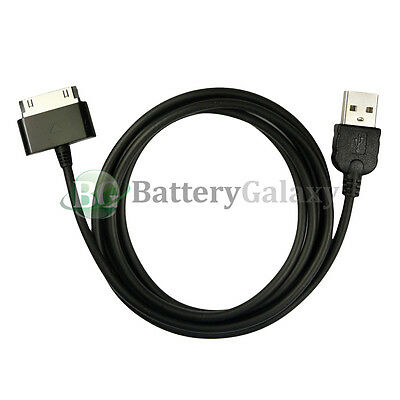 1X 2X 3X 4X 5X 10X Lot USB Charger Cable for Samsung Galaxy Tab 2 Plus 7.0 10.1'