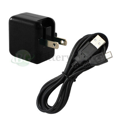 6FT USB Micro Data Cable+FAST Wall Charger for Amazon Kindle Fire HD HDX 7.0 8.9