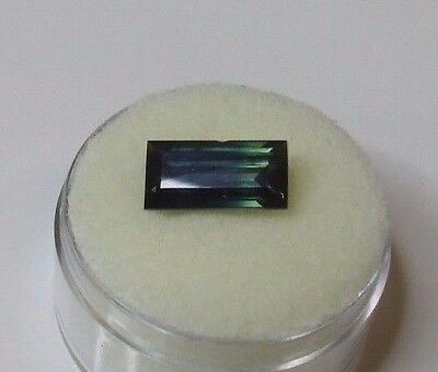 Natural Australian earth-mined blue/green/yellow oval sapphire...3.95 carat