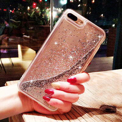 Bling Dynamic Glitter Liquid Quicksand Case Cover for iPhone 6s 7 8 X XS MAX XR