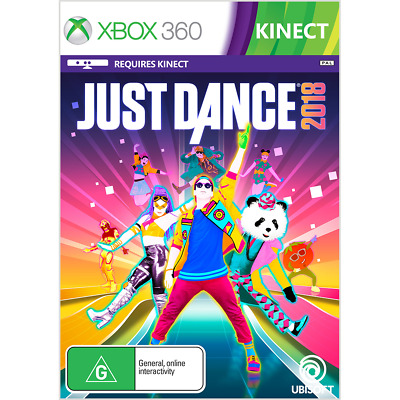 Just Dance 2018 - Xbox 360 - BRAND NEW