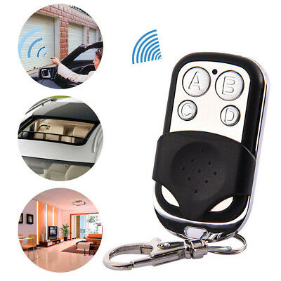 Universal 4 Button Gate Garage Opener Remote Control 433MHZ Rolling Code FF