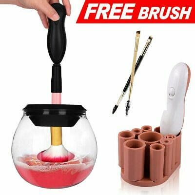 Makeup Brush Cleaner Electric Spinning Cleaner and Dryer Machine 360 Rotation
