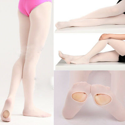 Cute Kids & Adults Convertible Tights Dance Stocking Socks Ballet Pantyhose Y