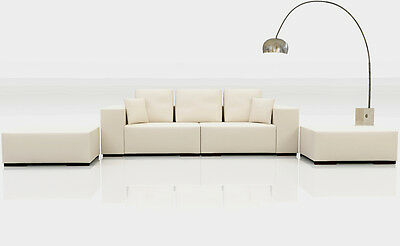 leder sofa 3 2 1 sitzer relax couch sofagarnitur couchgarnitur polstergarnitur eur. Black Bedroom Furniture Sets. Home Design Ideas