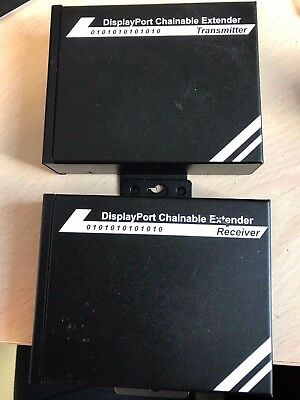 displayport chainable extender receiver et transmetteur