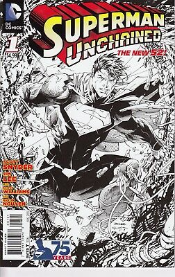 SUPERMAN UNCHAINED 1     ...NM-  ...2013   .1:300 Variant  ...       Bargain!