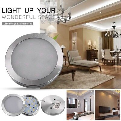 3x Recessed LED Under Cabinet Night Light Lamp Kitchen Corridor Cabinet Lamp Set