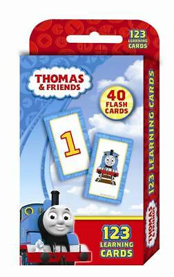 Thomas and Friends Learning Flash Cards 123 Suitable for Kids Ages 2 - 5 Hinkler