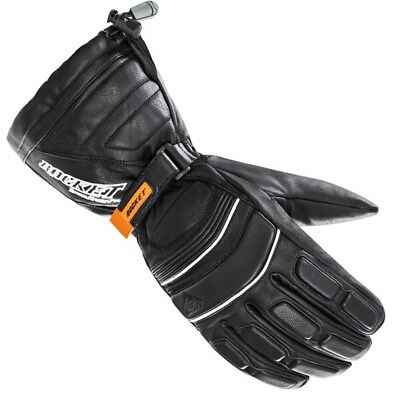 Joe Rocket Snowgear Extreme Leather Mens Skiing Ice Fishing Snowmobile Gloves