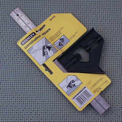 Made in USA Stanley model 46-012 Combination Square NEW