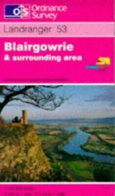 Landranger Map 53 Blairgowrie and Surrou... by Ordnance Survey Sheet map, folded
