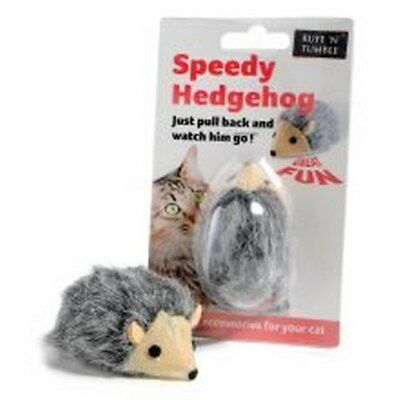 Ruff 'N' Tumble Speedy Hedgehog Cat Kitten Interactive Toy Fun Play PULL AND GO