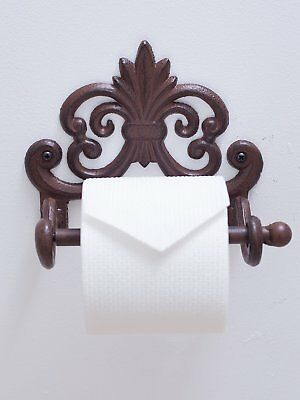 Fleur De Lis Cast Iron Toilet Paper Roll Holder Cast Iron Wall Mounted Toilet T