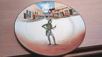 """Royal Doulton Series Ware 8 1/2"""" Plate """"Alfred Jingle"""" D2975.1908-31 Colourway"""