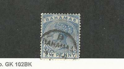 Bahamas, British, Postage Stamp, #28a Used, 1884