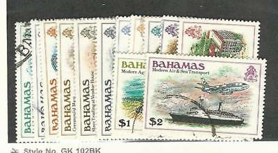 Bahamas, British, Postage Stamp, #464//477 Used (13 Different), 1980