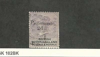Bechuanaland, Postage Stamp, #61 Clipped Perfs Used, 1888