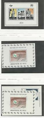 Belgium, Postage Stamp, #B806, B815, B840, B846 Mint NH Sheets, 1967-69