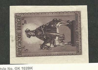 Belgium, Postage Stamp, #B316 Used (Cut From SS Sheet), 1942