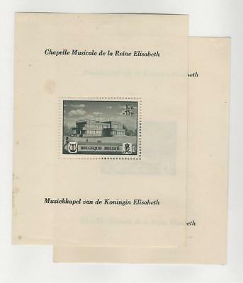 Belgium, Postage Stamp, #B317-B318 Mint Hinged Sheets, 1941
