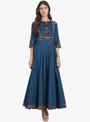 Printed Women Tops Kurtis Best Fit Kurtas Bollywood Designs and Stylish Look 44E