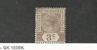 British Honduras, Postage Stamp, #40 Mint Hinged, 1891