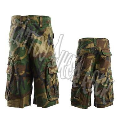 de6a20d32d Molecule Vintage Camouflage Military Clay Shooting Combat Men Shorts S, M,  L, XL