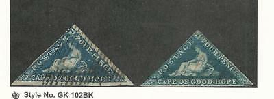 Cape of Good Hope, Postage Stamp, #4, 13 Used, 1855-63 Nice Stamps