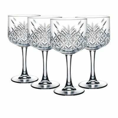 NEW Pasabahce Timeless Wine Goblet 500ml Set of 4