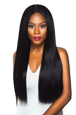 Vixen Yaki - Outre Synthetic Swiss X Lace Front Wig Long Straight