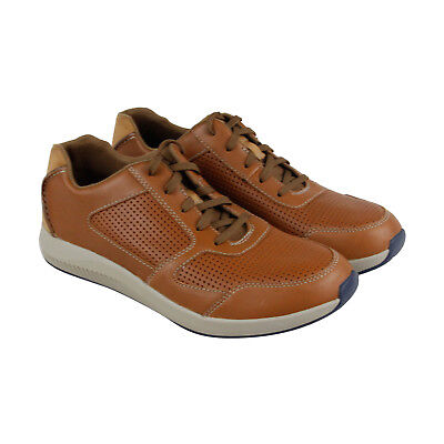 Clarks Sirtis Mix Mens Tan Nubuck Casual Dress Lace Up Oxfords Shoes