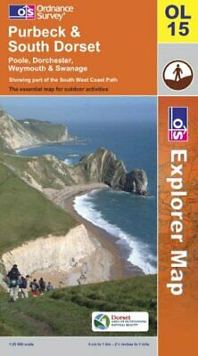 Purbeck and South Dorset (Explorer Maps) by Ordnance Survey Sheet map, folded