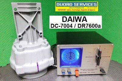 DAIWA DC-7004 Dial Pre-Set Controller & DR-7600a Rotator. Refurbished & Upgraded