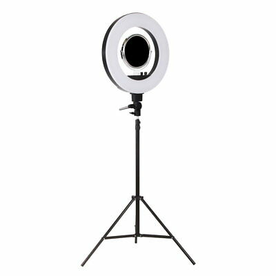 5800 Lumens Ring Light with Stand Black