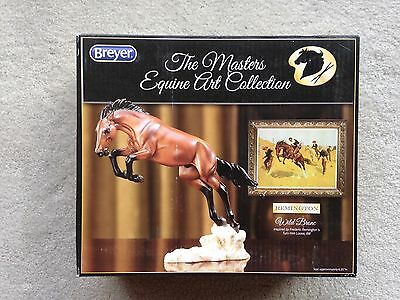 New NIB Breyer Horse #8264 Wild Bronc Artist Resin Fredric Remington Mustang