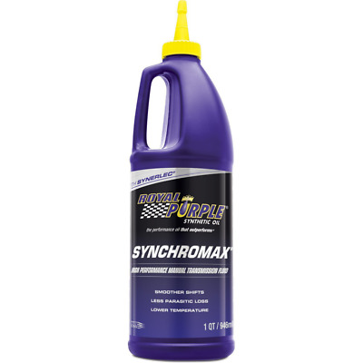 Royal Purple 01512 Synchromax High Performance Synthetic Manual Transmission Flu