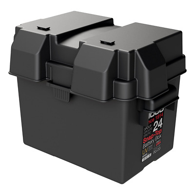 NOCO HM300BKS Group 24 Snap-Top Battery Box for Automotive, Marine and RV Batter