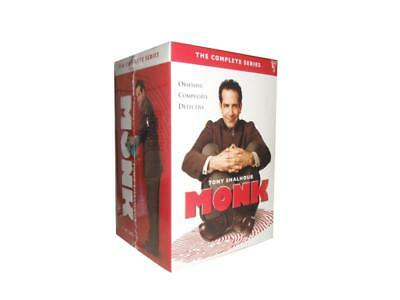 Monk the Complete series (DVD, 32-Disc Set)  Free shipping