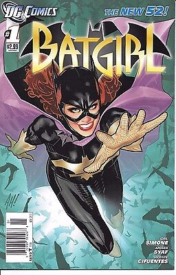 DC Comics New 52 BATGIRL #1 first printing Adam Hughes