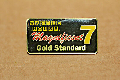 Waffle House Pin -  Magnificent 7 Gold Standard