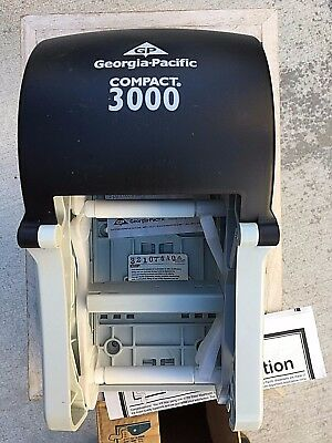 Commercial Toilet Paper Holder & Dispenser Georgia Pacific Compact 3000