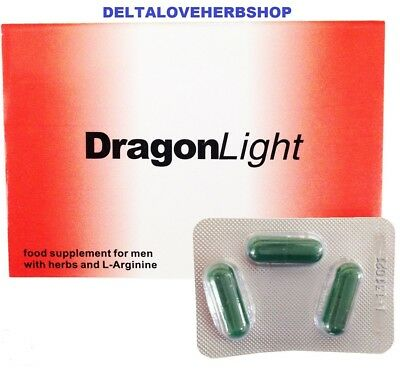 ORIGINAL-Dragon Light Sex Pill Erection Enhancers 475 mg  of Powerful Capsules!